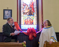 Stained Glass Window Dedication